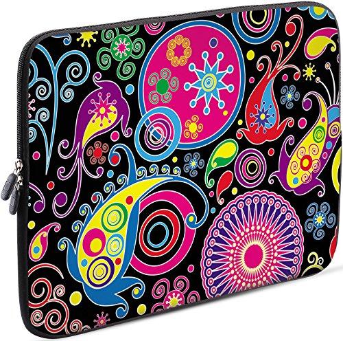 Sidorenko 11-11,6 Zoll Laptop Hülle - Laptoptasche kompatibel für MacBook/Chromebook aus Neopren, Mehrfarbig, 42 Designs zur Auswahl