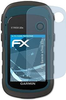6x Garmin etrex 22x protector de pantalla claro transparente protectora protector de pantalla