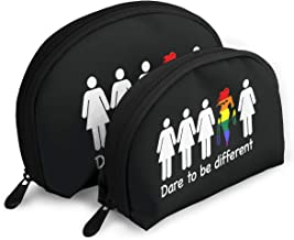 Dare To Be Different Unisex Portable Bags Clutch Pouch Storage Bags