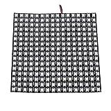 Nrpfell WS2812B LED RGB Panel de PíXeles Flexibles 16X16 Panel de Luz de Panel...