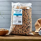 Happy Beaks All Seasons Wild Bird Food Seed Mix (25.5kg) High Energy Premium Feed For Wild Birds