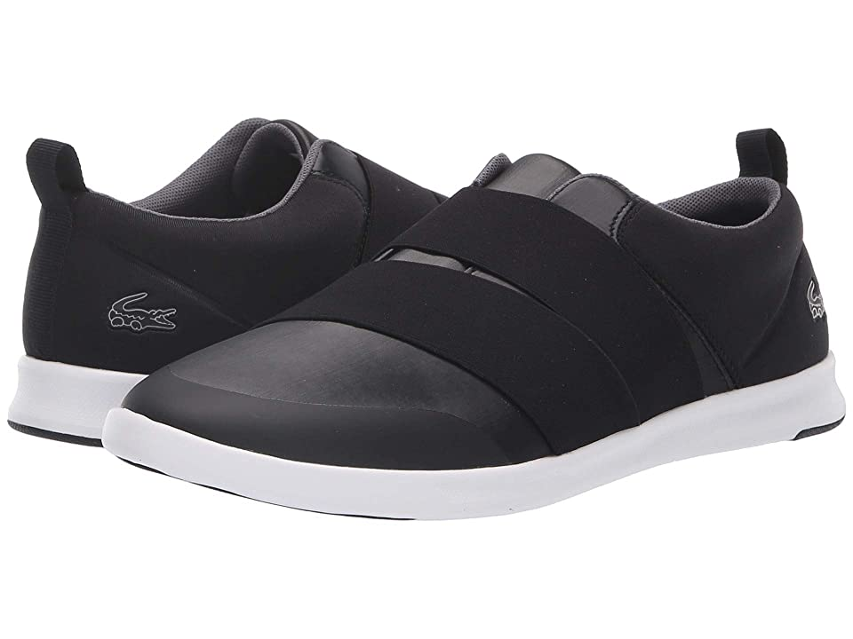 Lacoste Avenir Slip 418 1 (Black/White) Women