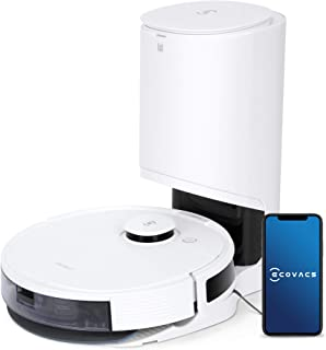 ECOVACS DEEBOT OZMO N8+ 3-in-1 Robot Vacuum Cleaner, with dTOF Laser Detection, 2.5L Auto-Empty Station,bacterial removal...