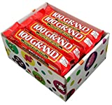 100 Grand Candy Bars, 1.5 oz Bars (Pack of 16) By CandyLab