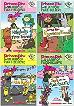 Princess Pink and the Land of Fake-Believe 4 book set