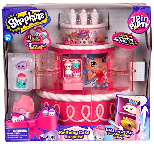 Shopkins Join the Party Playset - Birthday Cake Surprise