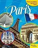 París. Libroaventuras: Incluye una miniguía, figuritas y un tapete