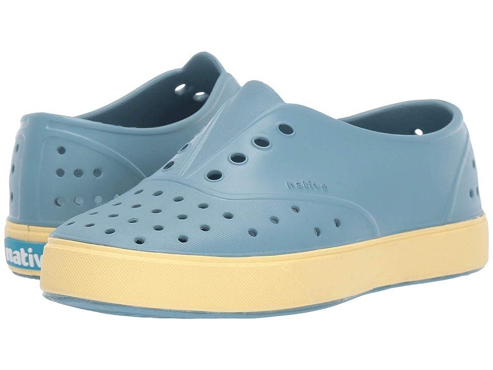 Native Kids Shoes Miller (Little Kid/Big Kid) (Fuji Blue/Gone Bananas Yellow) Kid