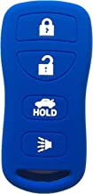 Rpkey Silicone Keyless Entry Remote Control Key Fob Cover Case protector For Infiniti FX35 FX45 G35 I35 Q45 QX56 Nissan 350Z Altima Armada Maxima Quest Sentra KBRASTU15 28268-C991A 28268-ZB700