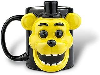 Five Nights At Freddy Golden Freddy Fazbear Mug  3D Ceramic Mug   16 Ounces