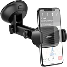 UGREEN Windscreen Car Phone Holder Suction Cup Dashboard Mobile Mount Long Arm Compatible with iPhone 12 SE 11 Pro Max XR XS 8 7, Galaxy S21 Ultra S20 FE S10 S9 A21s A51, Huawei, OnePlus, Pixel 4a