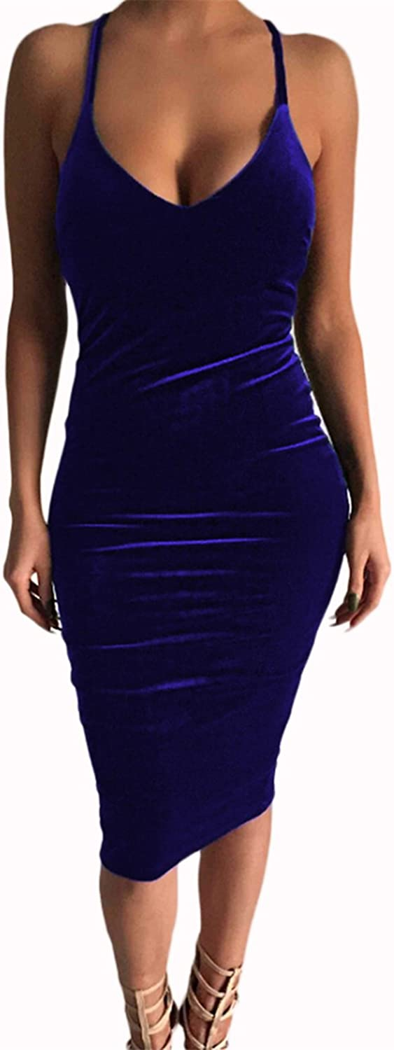 Antique Style Womens Sexy Strap Backless Credver Bodycon Party Club Mini Dress Evening Dress