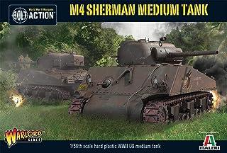 Bolt Action M4 Sherman Medium Tank 1:56 WWII Military Wargaming Plastic Model Kit