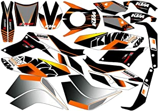 New Full Graphics Decals Stickers 3M Bright Waterproof Sun-proof For KTM DUKE 125 200 390 (Matte)