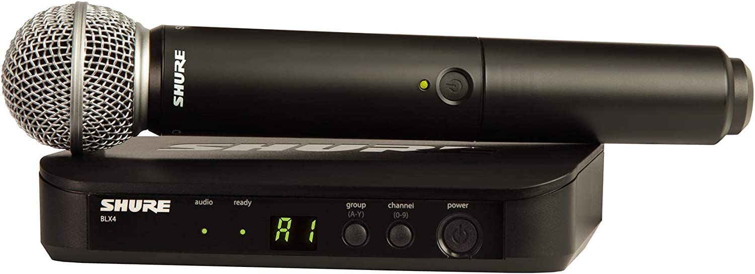 Shure BLX24 Department store SM58 Wireless Microphone System with BLX4 Receiver a Special sale item