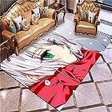 XuJinzisa Animazione Giapponese Cartoon TV Animazione 3D Stampa Tappeto Morbido Antiscivolo Soggiorno Camera da Letto Decorazione Domestica Tappeto 140X200Cm H5608