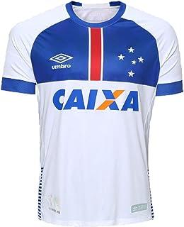 93d406b5c7 Camisa Cruzeiro Infantil Ii 2018 s/n C/Patrocínio Blaa Vikingur Torcedor  Umbro