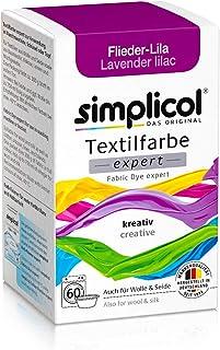 Simplicol Simplicol Textilfarbe expert Flieder-Lila 1707: Farbe für kreatives, einfaches Färben in der Waschmaschine oder manuell
