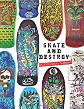 Skate And Destroy Notebook/journal: Skateboard workbook to write in and record your thoughts.