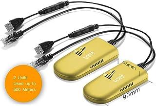 VONETS VAP11G-500 Mini 2.4GHz Industrial Long Range Wireless Bridge WiFi Repeater AP Client WiFi Booster Extender RJ45 Cab...