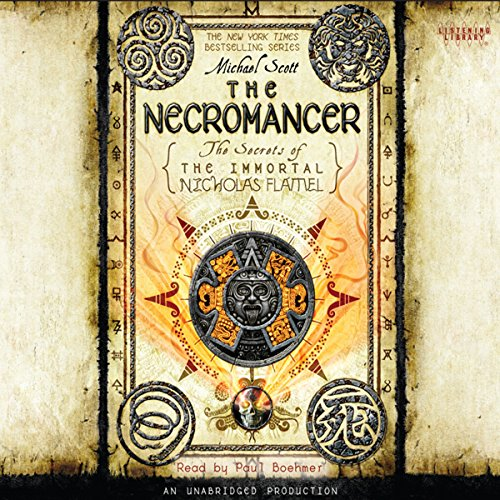 The Necromancer     The Secrets of the Immortal Nicholas Flamel, Book 4              By:                                                                                                                                 Michael Scott                               Narrated by:                                                                                                                                 Paul Boehmer                      Length: 11 hrs and 13 mins     1,890 ratings     Overall 4.4