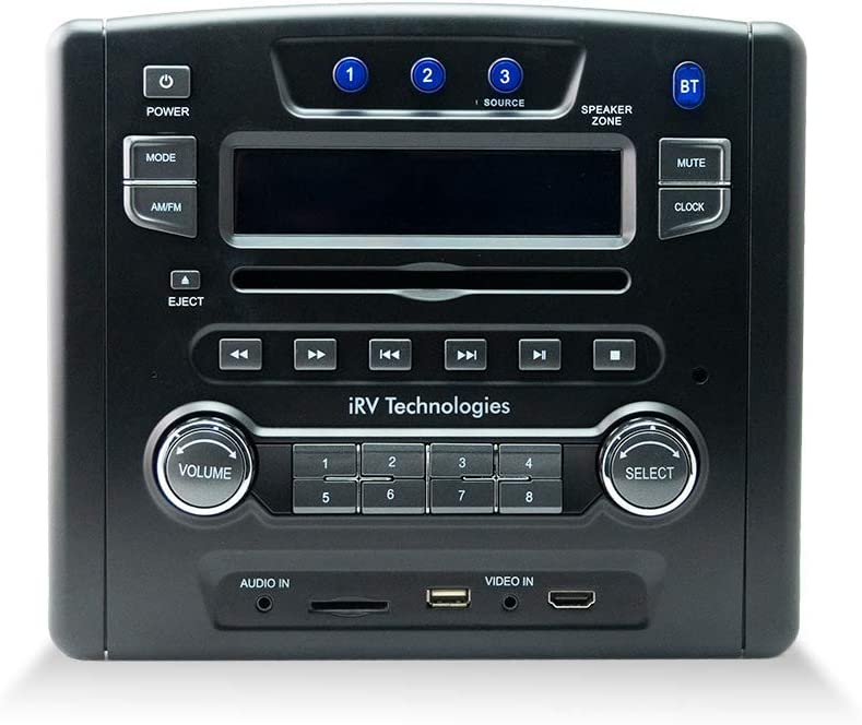 iRV Technology iRV34 AM FM CD DVD HDMI USB Be super welcome SD Digital2. MP3 Regular discount MP4