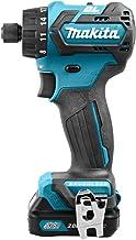 Makita DF032DSAJ drill Negro, Azul 1 kg - Taladro eléctrico (1 cm, 2,8 cm, 35 Nm, 21 Nm, 2,5 m/s², 450 RPM)