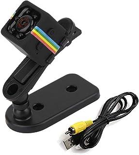 كاميرا فيديو للمراقبة بتصميم صغير يدعم اتصال واي فاي دي في ار بدقة 1080 بكسل لاسلكية وميزة الرؤية الليلية بالاشعة تحت الحمراء