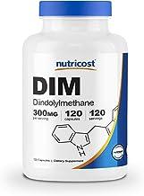 Nutricost DIM (Diindolylmethane) Plus BioPerine 300mg, 120 Veggie Capsules - Up to 4 Month Supply, Max Strength DIM Supplement…