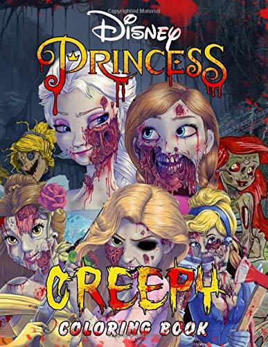 Creepy Princess Coloring Book: A Horror Coloring Book Evil Women Nightmares for Adults, Mens, Womens. Coloring Book for Adults Stress Relief and Relaxation