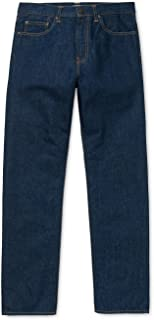Carhartt Denim Klondike Trousers Blue Coastb Blue