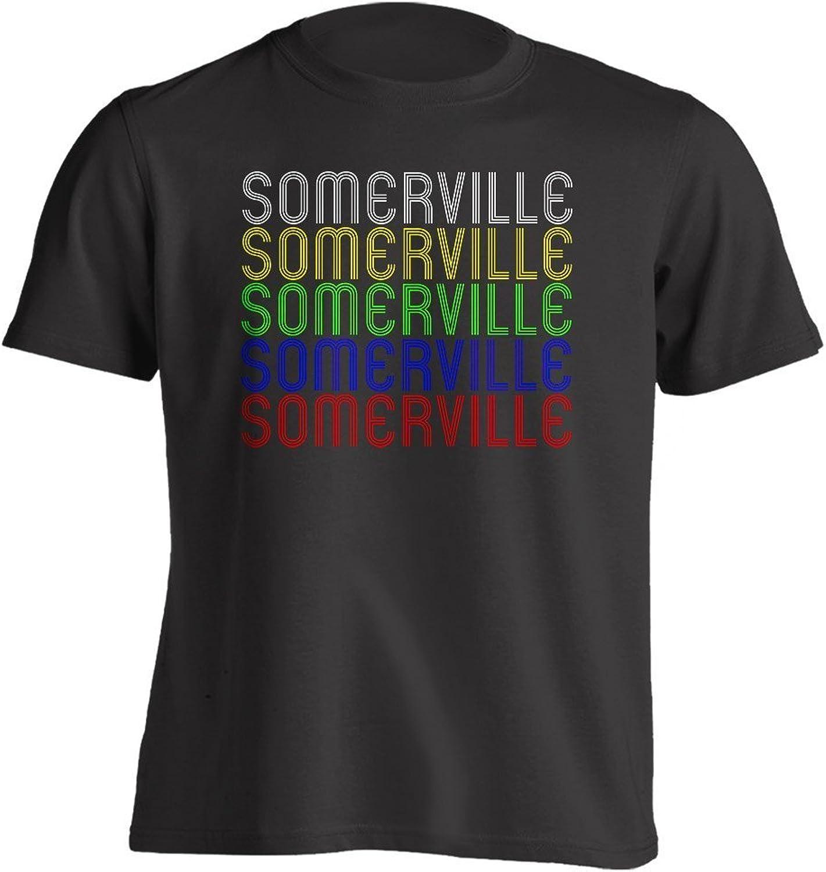 - Vintage Style Retro Hometown Hometown Hometown - Somerville, MA 02143 - Souvenir - Unisex - T-Shirt f32e92