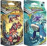 Unbekannt Pokemon SM12 - Welten im Wandel - Themendecks - Beide Decks 1x Groudon & 1x Kyogre - Deutsch -