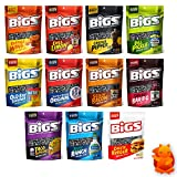 BIGS Sunflower Seeds Variety Pack Sampler of 11 Flavors - 5.35 Ounce
