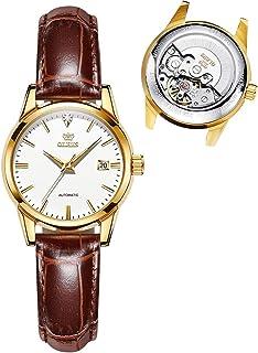 OPK Women's Bracelet Watch - Ultra Thin Fashion Minimalist - Stainless Steel Case - Rose Gold Mesh Steel Strap - Waterproo...