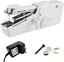 Akiara - Makes life easy Electric Handy Sewing/Stitch Handheld Cordless Portable White Sewing Machine for Home Tailoring, ...