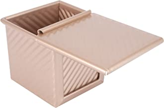 Cabilock Loaf Pan with Lid Non-Stick Bakeware Bread Toast Mold Aluminum Alloy Bread Baking Pan for DIY Bread Cake Baking S...