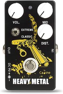 "Caline CP-77""Bounty Hunter"" Heavy Metal High Gain Distortion Pedal"