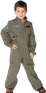Top Gun Boys Flight Suit Kids Costume - Large