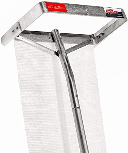 SNOWPEELER Premium - Roof Rake for Snow Removal - 30 ft. Reach - Clear Your Roof in No Time - Ideal for Long or Low-P...