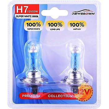 1x WURTH Car Super Headlight Halogen Bulbs Light Lamp H7 HID 12V 55W LONGLIFE