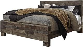 Ashley Furniture Design - B200 Derekson Casual King Panel Bed - Multi Gray