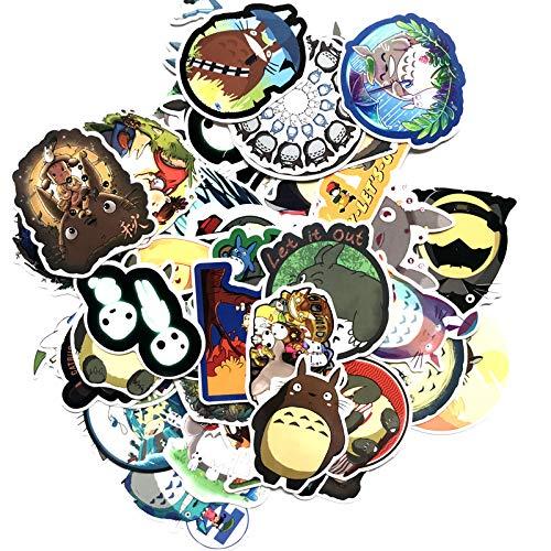 Multiculture 64 Stücke Totoro Vinyl Aufkleber