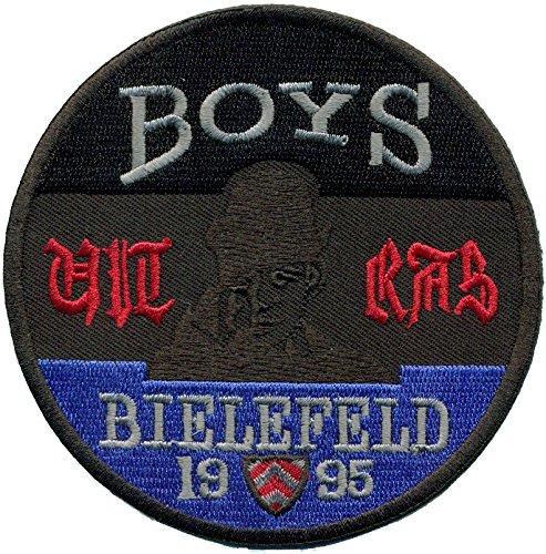 Boys Bielefeld Camouflage Fussball Fanclub Trikot Ultras Abzeichen Aufnäher
