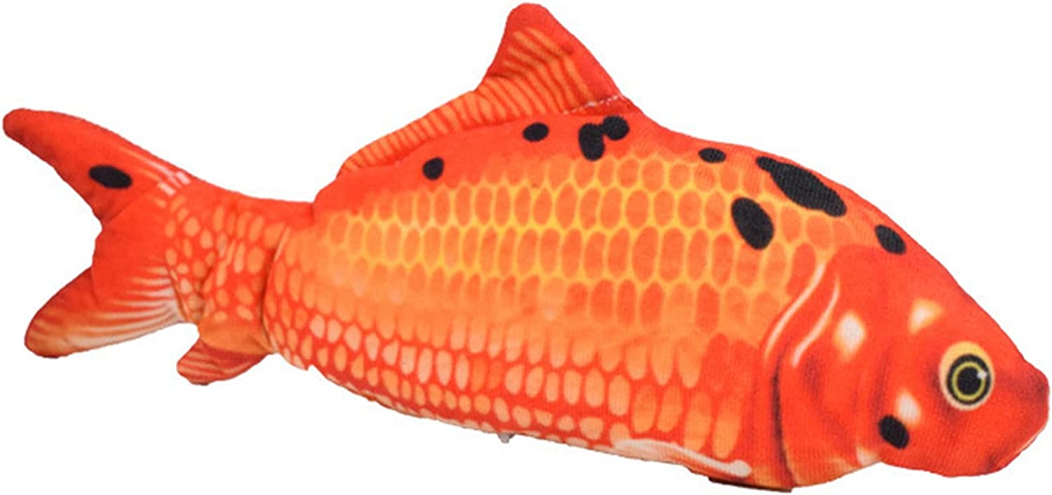 BIJIBEN Electric Moving Fish Cat Realistic Plush Motion A surprise price is 2021 model realized Toy