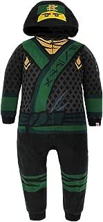 Ninjago Boys Fleece Hooded Union Suit Pajamas