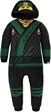 Lego Ninjago Boys Fleece Hooded Union Suit Pajamas