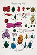 Posters: Andy Warhol Poster Art Print - Happy Bug Day (19 x 13 inches)