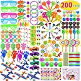 Max Fun 200Pcs Party Toys Assortment Party Favors for Kids Birthday Carnival Prizes Box Goodie Bag Fillers Classroom Rewards Pinata Filler Toys Treasure Box