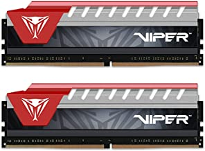 Patriot Viper Elite Series DDR4 8GB (2 x 4GB) 2400MHz Kit (Red) PVE48G240C5KRD